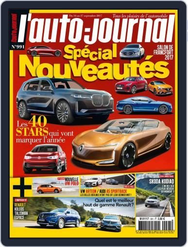 L'auto-journal September 14th, 2017 Digital Back Issue Cover
