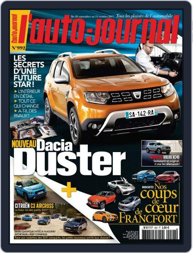 L'auto-journal (Digital) September 28th, 2017 Issue Cover