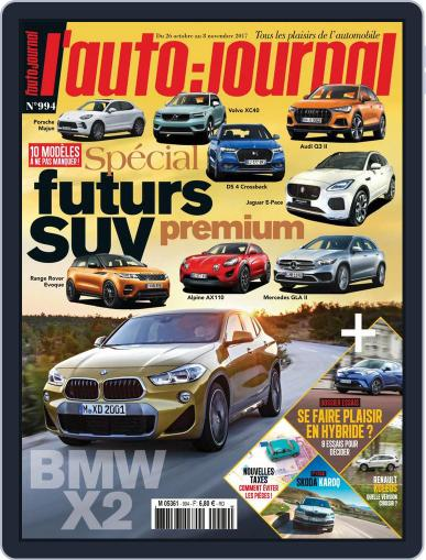 L'auto-journal (Digital) October 26th, 2017 Issue Cover