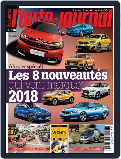 L'auto-journal (Digital) November 23rd, 2017 Issue Cover