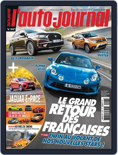 L'auto-journal December 7th, 2017 Digital Back Issue Cover