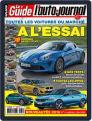 L'auto-journal (Digital) Subscription January 1st, 2018 Issue