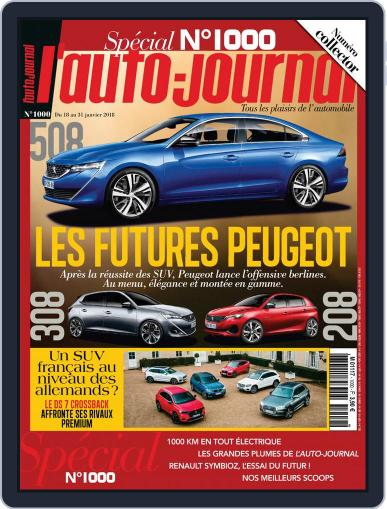 L'auto-journal January 18th, 2018 Digital Back Issue Cover