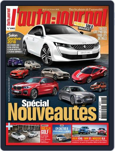 L'auto-journal (Digital) March 1st, 2018 Issue Cover