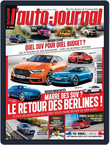 L'auto-journal (Digital) March 15th, 2018 Issue Cover