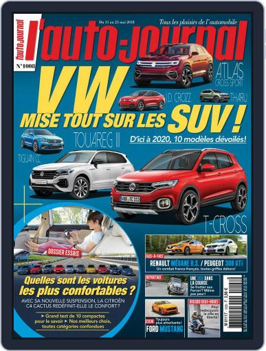 L'auto-journal May 11th, 2018 Digital Back Issue Cover