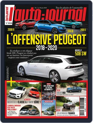 L'auto-journal June 7th, 2018 Digital Back Issue Cover