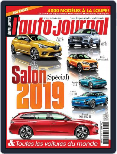 L'auto-journal (Digital) July 5th, 2018 Issue Cover