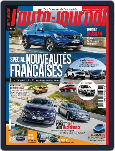 L'auto-journal (Digital) July 19th, 2018 Issue Cover