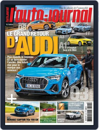 L'auto-journal August 16th, 2018 Digital Back Issue Cover