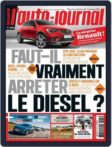L'auto-journal August 30th, 2018 Digital Back Issue Cover