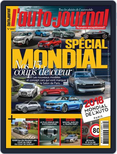 L'auto-journal September 27th, 2018 Digital Back Issue Cover