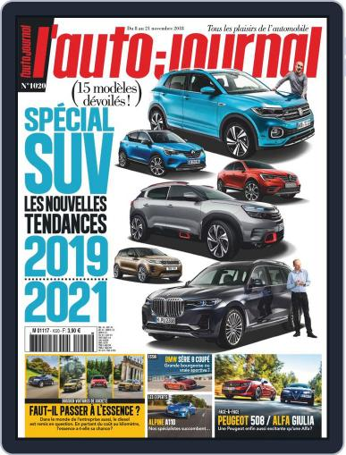 L'auto-journal (Digital) November 8th, 2018 Issue Cover