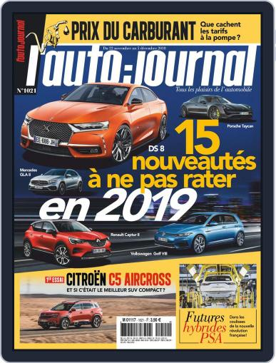 L'auto-journal (Digital) November 22nd, 2018 Issue Cover
