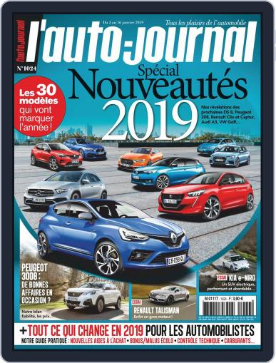 L'auto-journal January 3rd, 2019 Digital Back Issue Cover