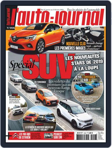 L'auto-journal January 31st, 2019 Digital Back Issue Cover