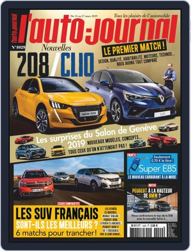 L'auto-journal March 14th, 2019 Digital Back Issue Cover