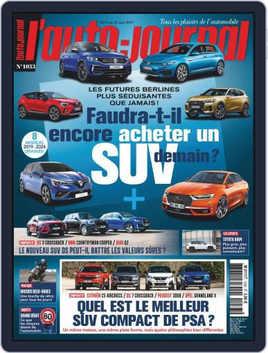L'auto-journal May 22nd, 2019 Digital Back Issue Cover