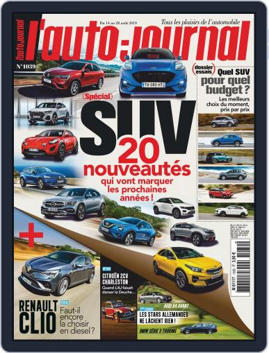 L'auto-journal (Digital) August 14th, 2019 Issue Cover