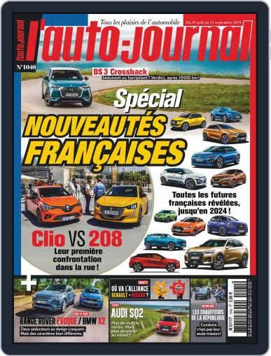 L'auto-journal August 28th, 2019 Digital Back Issue Cover
