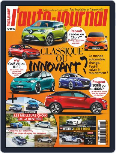 L'auto-journal September 26th, 2019 Digital Back Issue Cover
