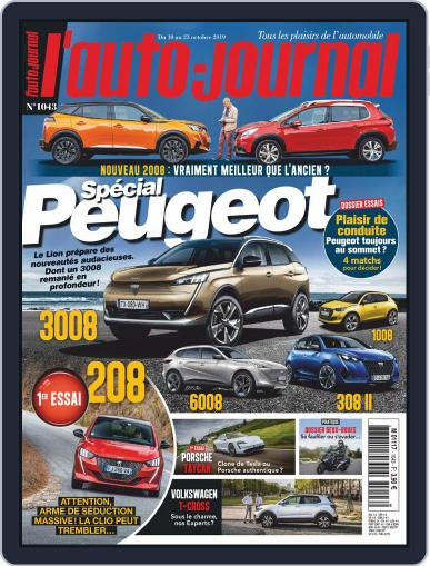 L'auto-journal October 10th, 2019 Digital Back Issue Cover