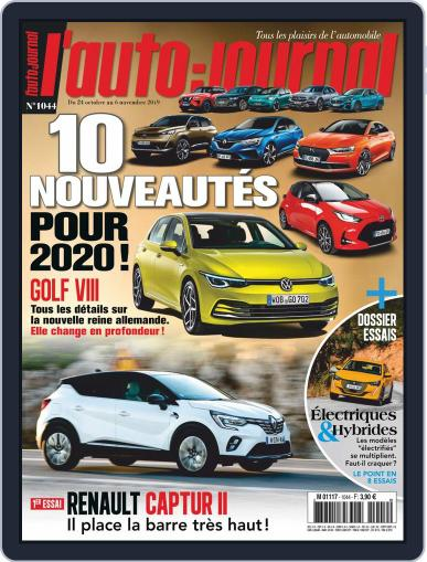 L'auto-journal October 24th, 2019 Digital Back Issue Cover