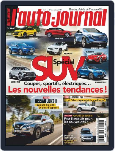 L'auto-journal (Digital) November 7th, 2019 Issue Cover