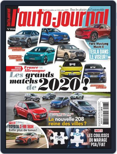 L'auto-journal (Digital) November 21st, 2019 Issue Cover