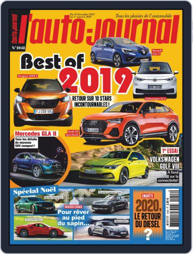 L'auto-journal (Digital) December 19th, 2019 Issue Cover