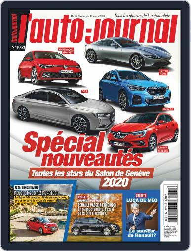 L'auto-journal (Digital) February 27th, 2020 Issue Cover