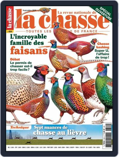 La Revue nationale de La chasse September 1st, 2019 Digital Back Issue Cover