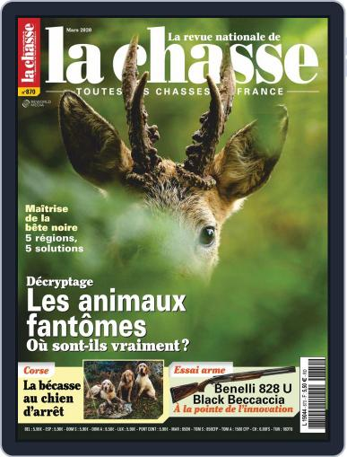La Revue nationale de La chasse March 1st, 2020 Digital Back Issue Cover