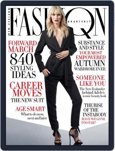 Fashion Quarterly (Digital) February 1st, 2017 Issue Cover