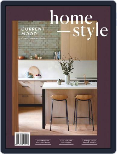 homestyle April 1st, 2019 Digital Back Issue Cover