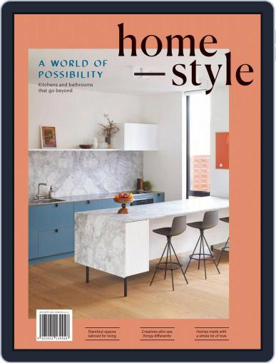 homestyle August 1st, 2019 Digital Back Issue Cover