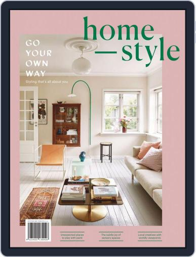 homestyle October 1st, 2019 Digital Back Issue Cover