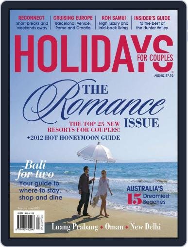 Holidays for Couples (Digital) April 15th, 2012 Issue Cover