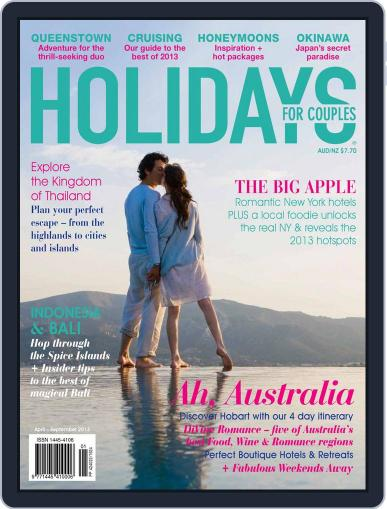 Holidays for Couples (Digital) March 19th, 2013 Issue Cover
