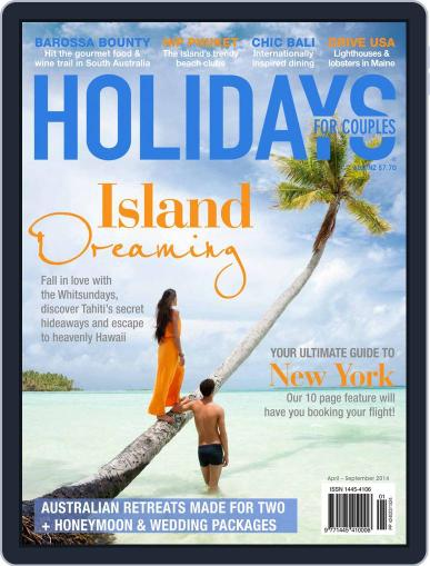Holidays for Couples (Digital) March 26th, 2014 Issue Cover