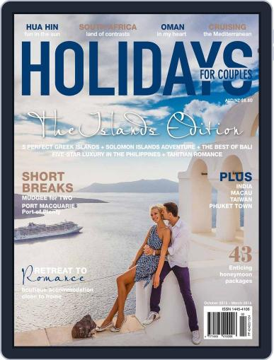 Holidays for Couples (Digital) October 15th, 2015 Issue Cover