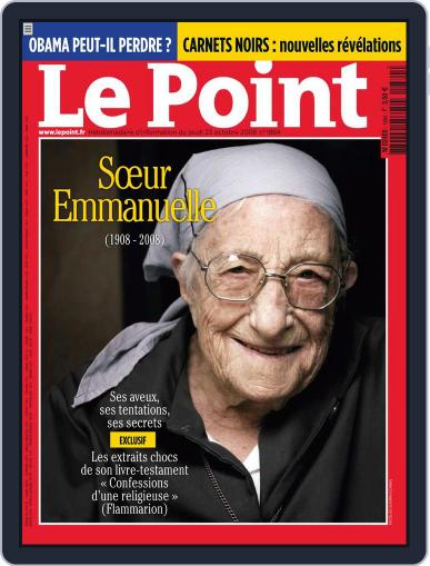 Le Point October 22nd, 2008 Digital Back Issue Cover