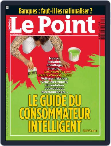 Le Point (Digital) October 30th, 2008 Issue Cover