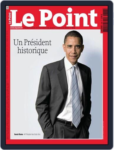 Le Point November 5th, 2008 Digital Back Issue Cover