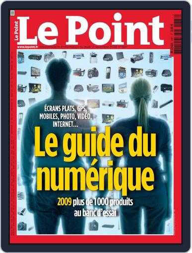 Le Point November 12th, 2008 Digital Back Issue Cover