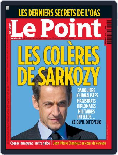 Le Point November 19th, 2008 Digital Back Issue Cover