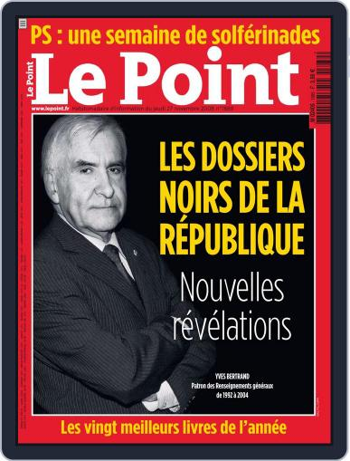 Le Point November 26th, 2008 Digital Back Issue Cover