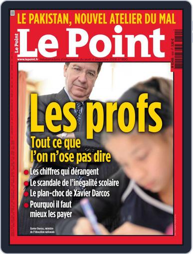 Le Point December 3rd, 2008 Digital Back Issue Cover