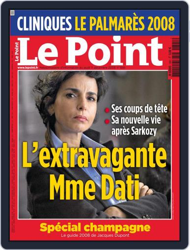Le Point (Digital) December 10th, 2008 Issue Cover