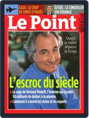 Le Point (Digital) Subscription December 31st, 2008 Issue